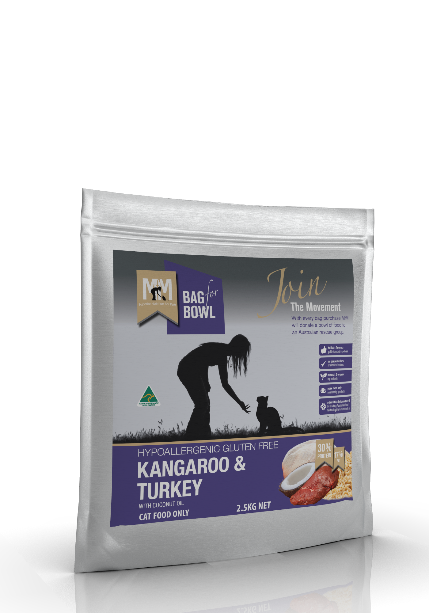 Kangaroo & Turkey - Meals For Mutts Australia